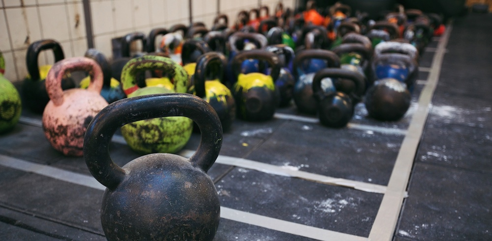 CrossFit on the Great River Road